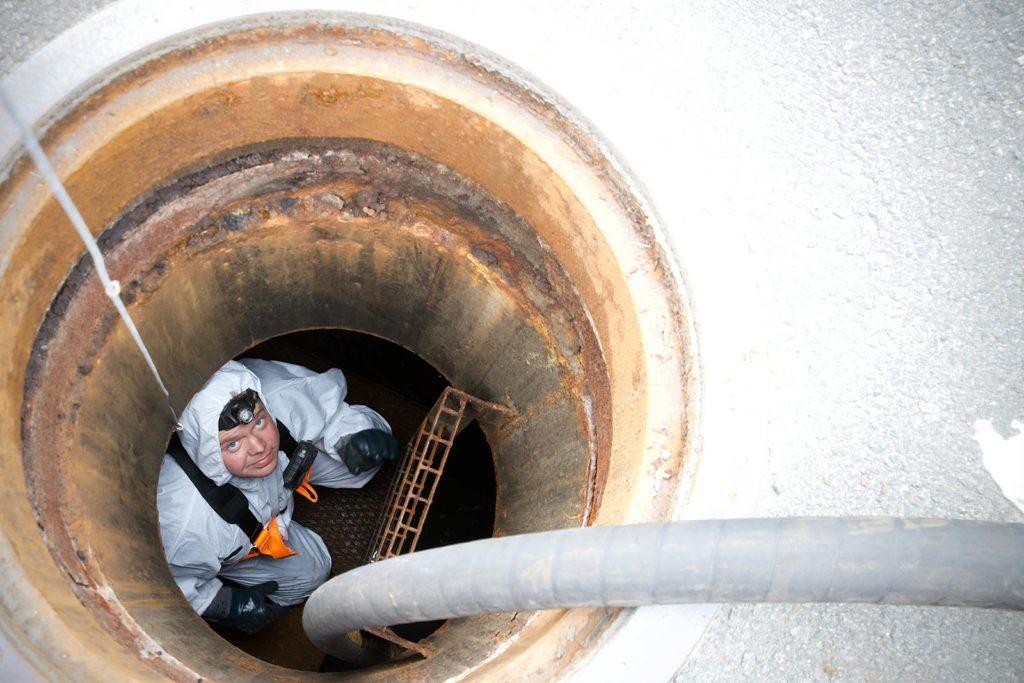 Hansen Renovasjon - Tømming av oljeutskiller